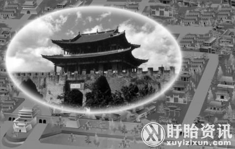 """""""东方庞贝""""泗州城330年后重见天日 淹没在洪泽湖底"""