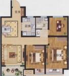 3室2厅1卫-99㎡